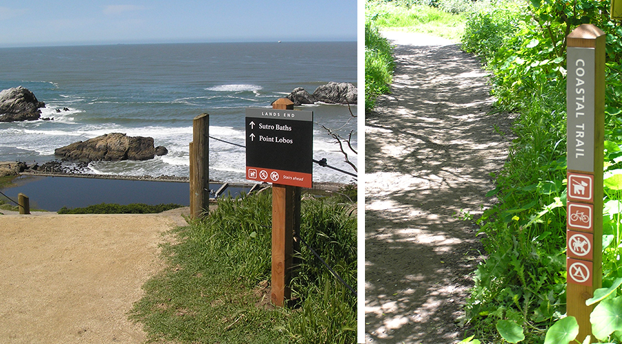 Golden Gate National Recreation Area Sign Guide